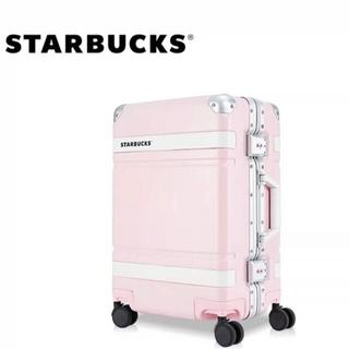 スターバックスコーヒー(Starbucks Coffee)の【中国スタバ限定】スターバックス スーツケース キャリーケース ピンク (スーツケース/キャリーバッグ)