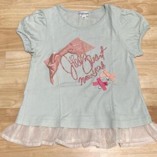 ジルスチュアートニューヨーク(JILLSTUART NEWYORK)のJILL STUART    裾フリルTシャツ 130(Tシャツ/カットソー)