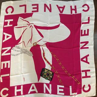 シャネル(CHANEL)のスカーフ(バンダナ/スカーフ)