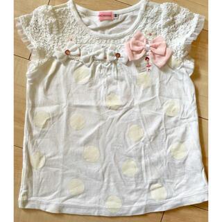 ミキハウス(mikihouse)の✴︎美品✴︎ミキハウス ベビー Tシャツ 90(Tシャツ/カットソー)