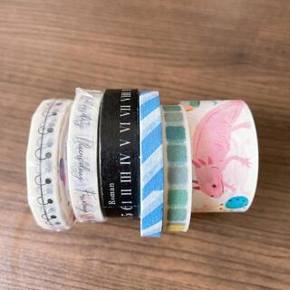 エムティー(mt)のマスキングテープ 6本セット mtなど まとめ売り(テープ/マスキングテープ)