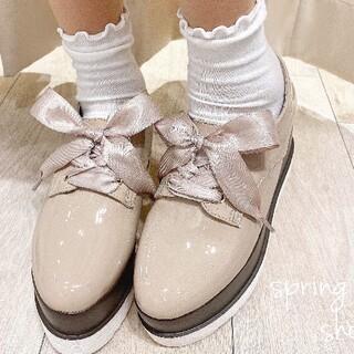 エブリン(evelyn)のevelyn 厚底シューズ(ローファー/革靴)