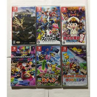ニンテンドースイッチ(Nintendo Switch)の任天堂Switch ソフトセット(家庭用ゲームソフト)