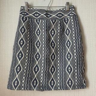 アルシーヴ(archives)のarchives 台形スカート(ひざ丈スカート)