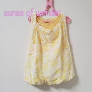sense of wonder - 【100】センスオブワンダー バルーン ワンピース