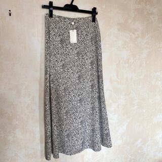 CAPRICIEUX LE'MAGE - カプリシュレマージュ レオパードタイトフレアスカート
