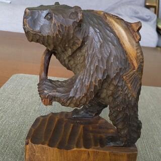 北海道木彫りの熊(彫刻/オブジェ)