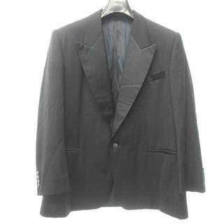 アザー(other)の西川 美品 スキャバル地 タキシードジャケット フォーマル ブラック 黒 約XL(その他)