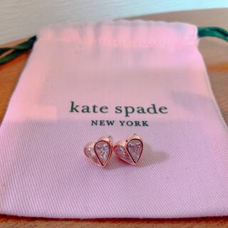 ケイトスペードニューヨーク(kate spade new york)のkate spade new york ハート ピアス(ピアス)