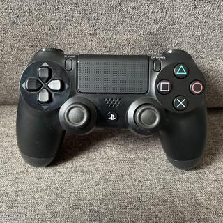 プレイステーション4(PlayStation4)のPS4 コントローラー 黒 美品(その他)