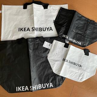 イケア(IKEA)の店舗販売限定 IKEA渋谷エコバッグ4枚セット(エコバッグ)