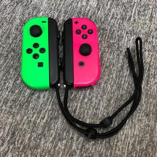 ニンテンドースイッチ(Nintendo Switch)のNintendo Switch Joy-Con ネオングリーン ネオンピンク(その他)