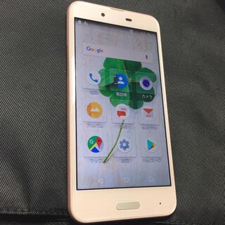 アクオス(AQUOS)のAQUOS SENSE SHV40 スマホ ピンク(スマートフォン本体)