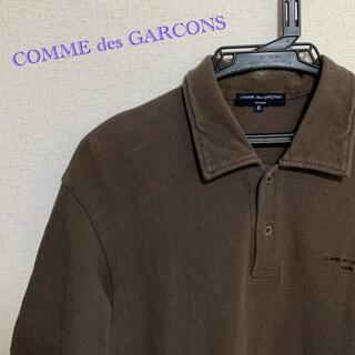 COMME des GARCONS - COMME des GARCONS HOMME 06ss ロゴ刺繍ポロシャツ