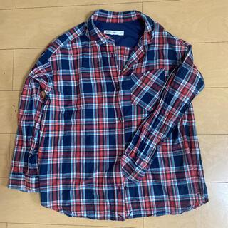 バビロン(BABYLONE)のBABYLONEネルシャツ チェックシャツ(シャツ/ブラウス(長袖/七分))