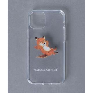 MAISON KITSUNE' - CHILLAX FOX CASE for iPhone 12/12Pro 人気品