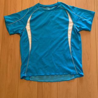 ティゴラ(TIGORA)のTIGORA トレーニングシャツ メンズM 青(ウェア)