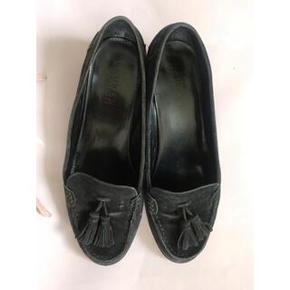 ラルフローレン(Ralph Lauren)のRalph Lauran 黒タッセルローファー 24.5〜25cm(ローファー/革靴)