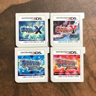 ニンテンドー3DS - ポケットモンスター ポケモン 3ds ソフト X Y ルビー  サファイア