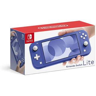 ニンテンドースイッチ(Nintendo Switch)のNINTENDO SWITCH LITE ブルー(その他)