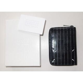 マルタンマルジェラ(Maison Martin Margiela)のマルジェラ 財布 logo round zip wallet black(折り財布)