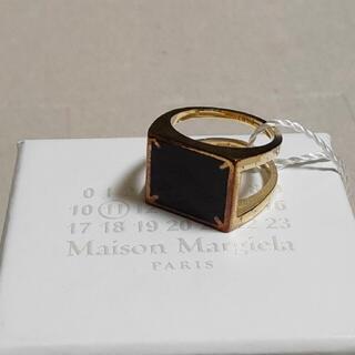 Maison Martin Margiela - 20SS新品S メゾン マルジェラ 4ステッチ リング 指輪 メンズ ブラック