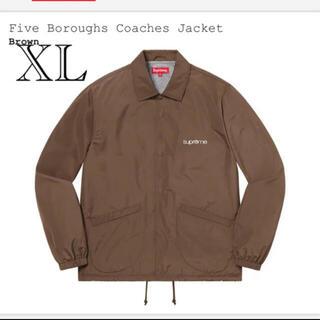 Supreme - Five Boroughs Coaches Jacket