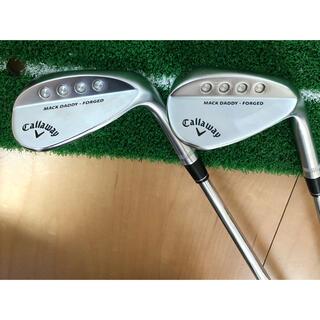 Callaway Golf - キャロウェイ マックダディフォージド 50、56度 モーダス120S