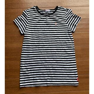 ミキハウス(mikihouse)のミキハウス 半袖 ボーダー Tシャツ 150 リーナちゃん(Tシャツ/カットソー)