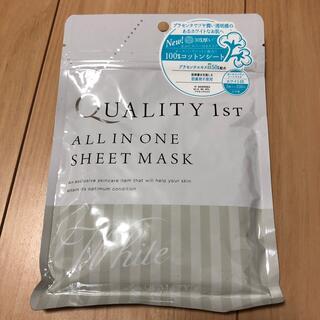 クオリティファースト(QUALITY FIRST)のオールインワンシートマスク(パック/フェイスマスク)