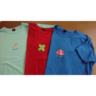 mont bell - ★中古★モンベルmont-bellレディースTシャツ3枚セット