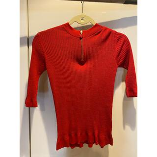 ミュベールワーク(MUVEIL WORK)のミューベル トップス(Tシャツ(半袖/袖なし))
