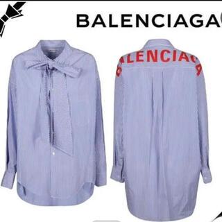 Balenciaga - バレンシアガ  スウィングシャツ バックロゴ   32