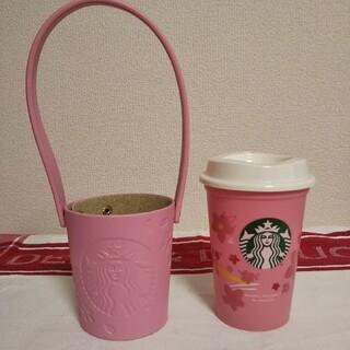 Starbucks Coffee - スターバックス☆さくら2020リユーザブルカップ&ホルダー☆STARBUCKS