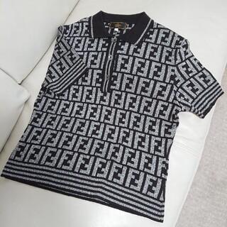 FENDI - 極上美品【FENDI フェンディ】ズッカ柄 ポロシャツ