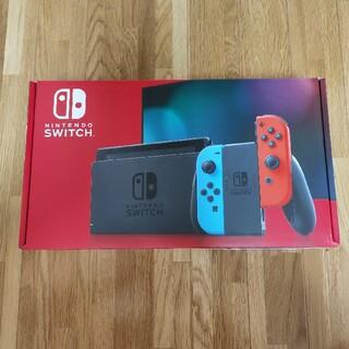 ニンテンドウ(任天堂)の新品 Nintendo Switch ニンテンドースイッチ 本体(家庭用ゲーム機本体)