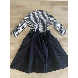 NARACAMICIE - ナラカミーチェ ギンガムチェックシャツ ブラック 0 S