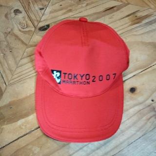 asics - 東京マラソン2007 ボランティアキャップ(ベースボールキャップ)