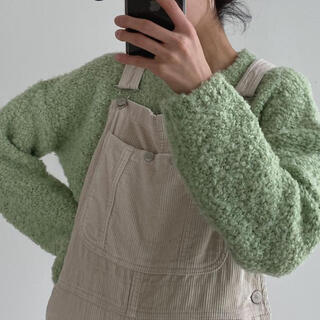 STYLENANDA - samoyed Sheep Girly Knit サモエド ニット