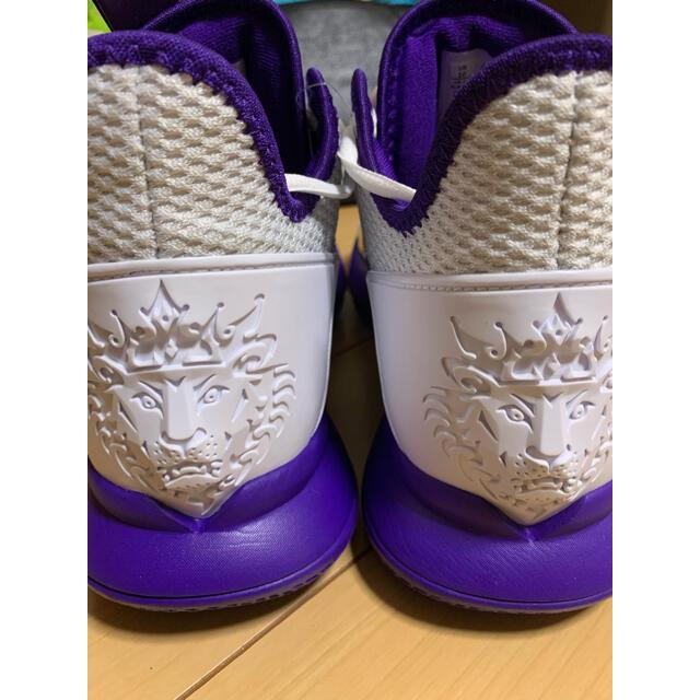 NIKE(ナイキ)のLEBRONWITNESS4 レブロンウィットネス レイカーズ バッシュ  メンズの靴/シューズ(スニーカー)の商品写真