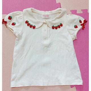 Shirley Temple - いちご 半袖 Tシャツ 110