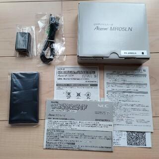 NEC - 【新品未使用】NEC LTEモバイルルータ Aterm MR05LN