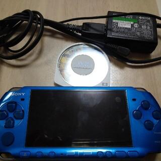 PSP 純正ケーブル付 ジャンク品(携帯用ゲーム機本体)