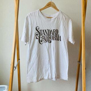 スタンダードカリフォルニア(STANDARD CALIFORNIA)のスタンダードカリフォルニア RHC ロンハーマン LOGO tシャツ TEE L(Tシャツ/カットソー(半袖/袖なし))