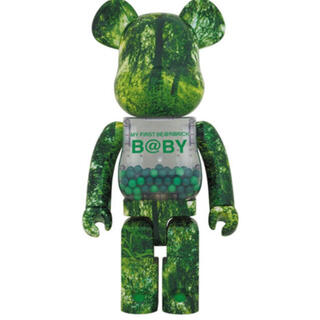 MY FIRST BE@RBRICK B@BY FOREST GREEN