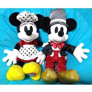 Disney - ディズニー ミッキー・ミニー ぬいぐるみ