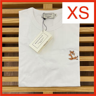 【新品】メゾンキツネ Tシャツ ホワイト XS MAISON KITSUNE