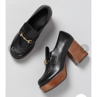ジーナシス(JEANASIS)のJEANASIS ビットツキヒールローファー(ローファー/革靴)