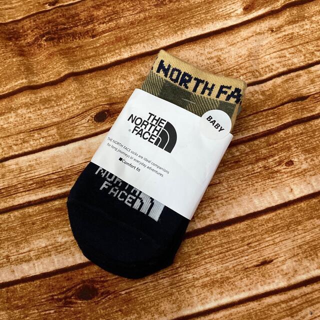 THE NORTH FACE(ザノースフェイス)のザノースフェイス ベビーソックス キッズ/ベビー/マタニティのこども用ファッション小物(靴下/タイツ)の商品写真