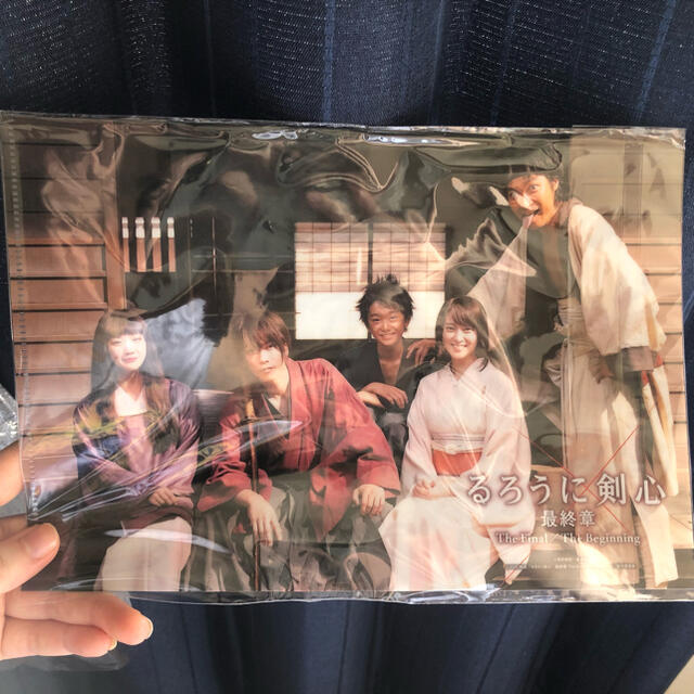 集英社(シュウエイシャ)のるろうに剣心クリアファイル ジャンプSQ エンタメ/ホビーのアニメグッズ(クリアファイル)の商品写真
